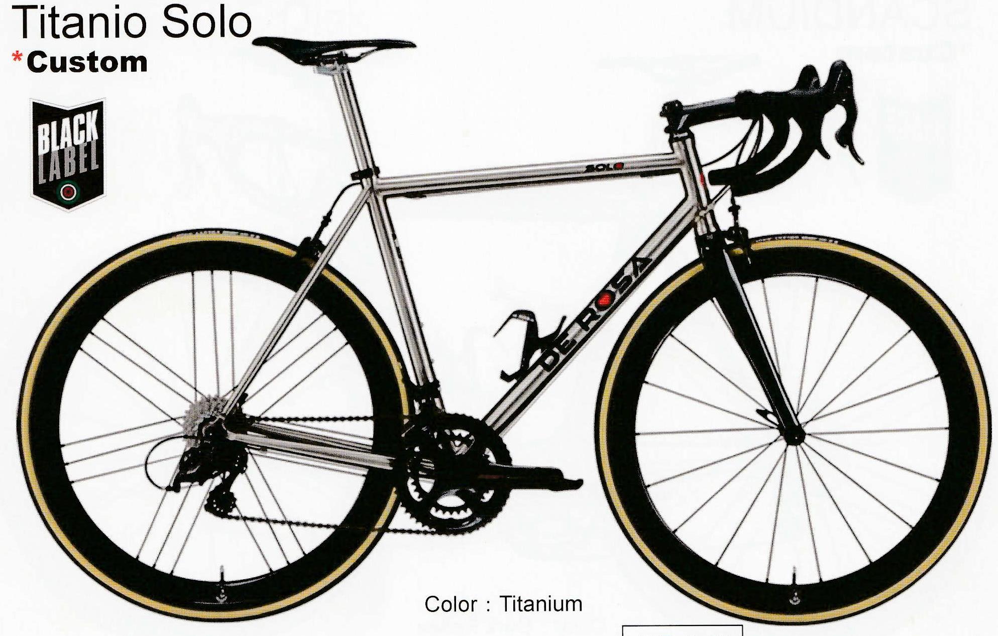 TITANIO SOLO フレームセット 2020