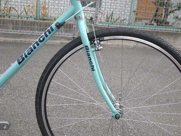 自転車の 自転車 ギヤ ワイヤー 交換 : 2009年モデル BIANCHI ビアンキ ...