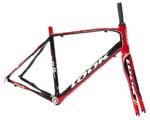 2009年 LOOK 566 Frame Set BLACK/RED COLOR ルック フレームセット ブラックレッドカラー