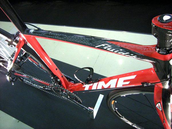 自転車の time 自転車 完成車 : TIME FLUIDITY Sフレームセットです ...